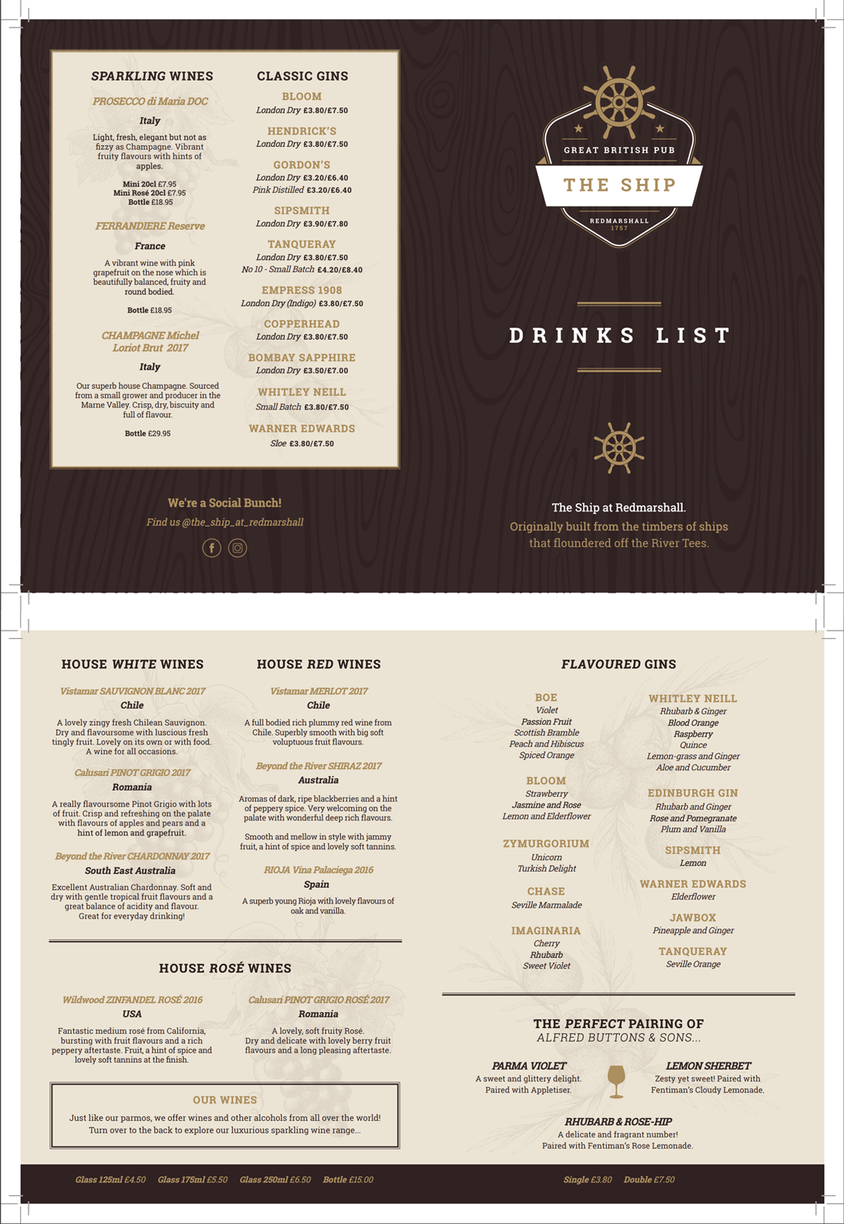 Drinks Menu Image